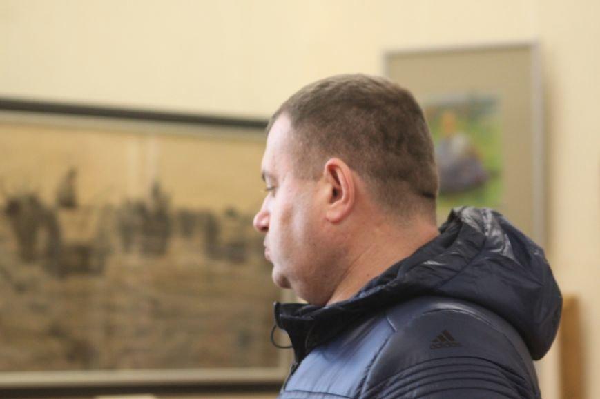 В Ужгороді відкрилася виставка видатного художника Закарпаття Гаврила Глюка: фоторепортаж, фото-17