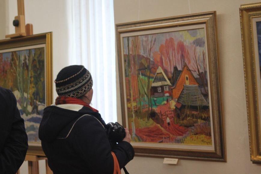 В Ужгороді відкрилася виставка видатного художника Закарпаття Гаврила Глюка: фоторепортаж, фото-20