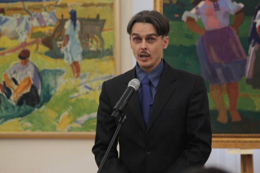 В Ужгороді відкрилася виставка видатного художника Закарпаття Гаврила Глюка: фоторепортаж, фото-11