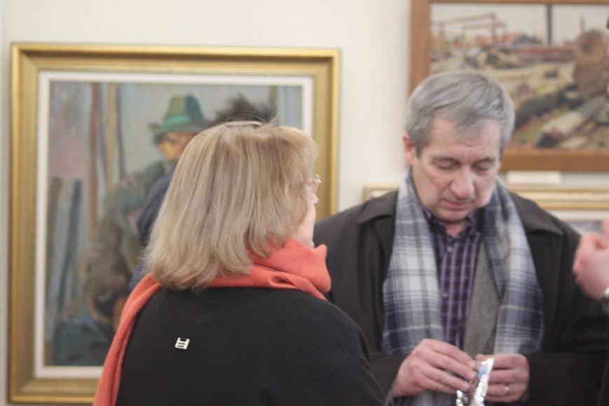 В Ужгороді відкрилася виставка видатного художника Закарпаття Гаврила Глюка: фоторепортаж, фото-25