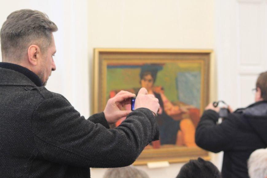 В Ужгороді відкрилася виставка видатного художника Закарпаття Гаврила Глюка: фоторепортаж, фото-21