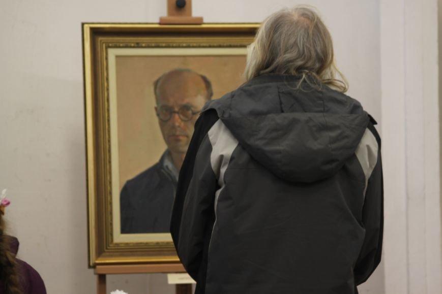 В Ужгороді відкрилася виставка видатного художника Закарпаття Гаврила Глюка: фоторепортаж, фото-27