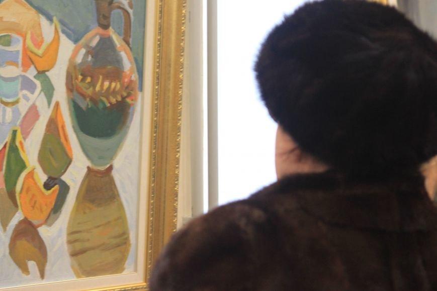 В Ужгороді відкрилася виставка видатного художника Закарпаття Гаврила Глюка: фоторепортаж, фото-2