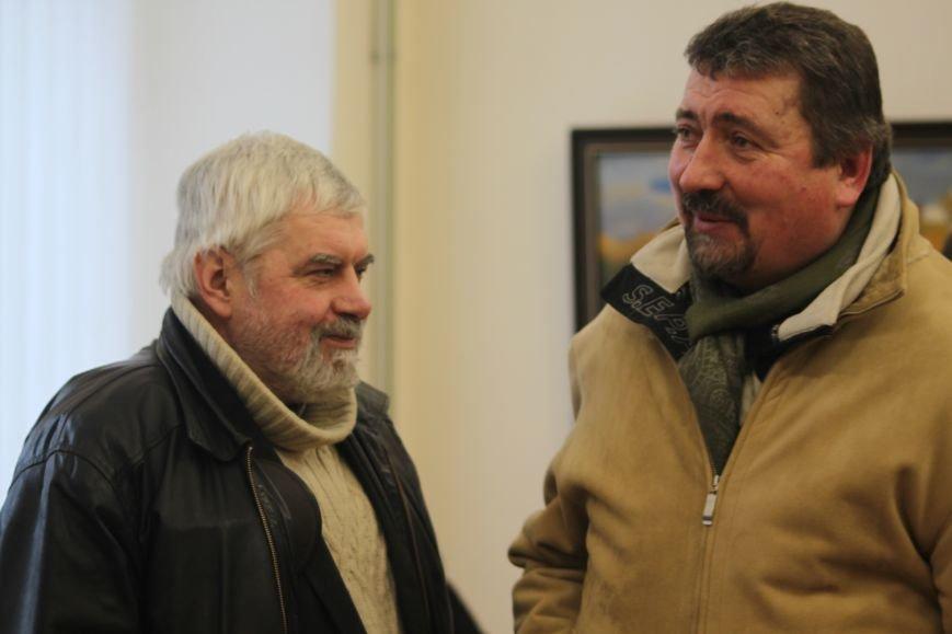В Ужгороді відкрилася виставка видатного художника Закарпаття Гаврила Глюка: фоторепортаж, фото-23