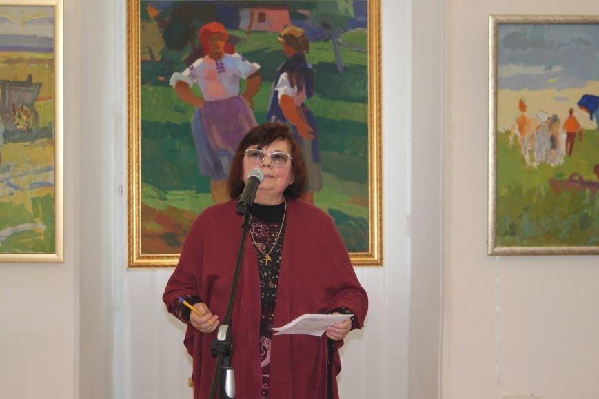 В Ужгороді відкрилася виставка видатного художника Закарпаття Гаврила Глюка: фоторепортаж, фото-8