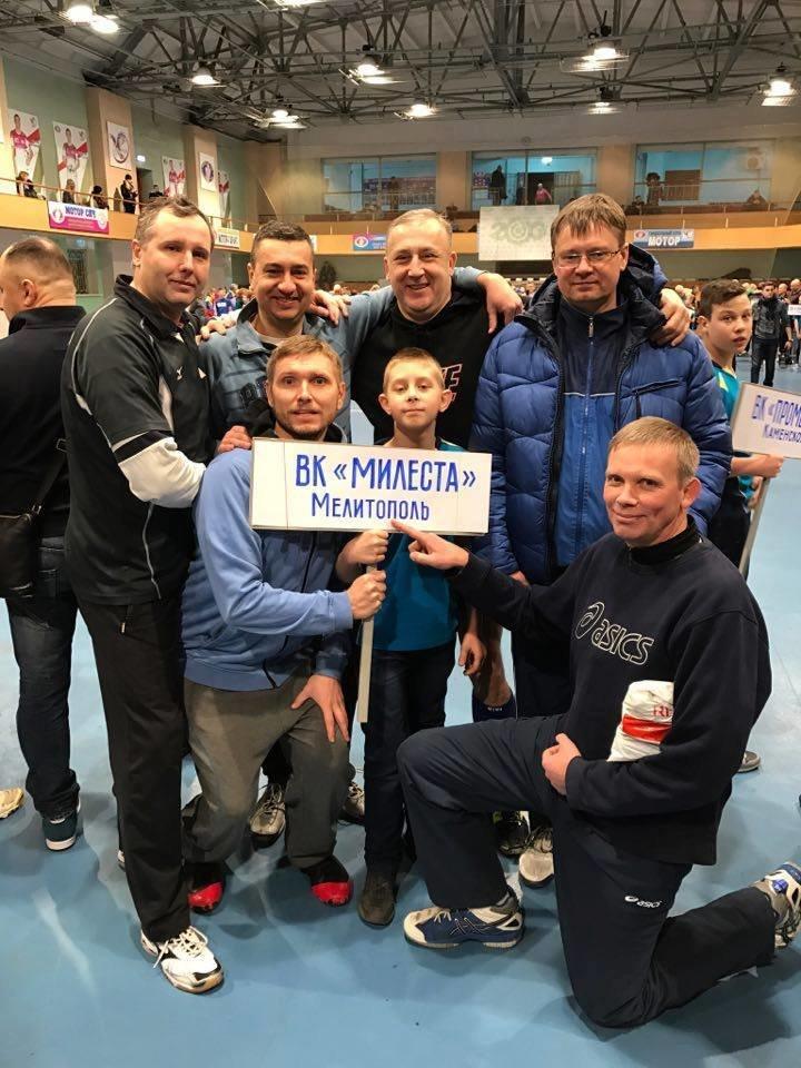 Ветераны волейбола выступают на престижном турнире в Запорожье, фото-1