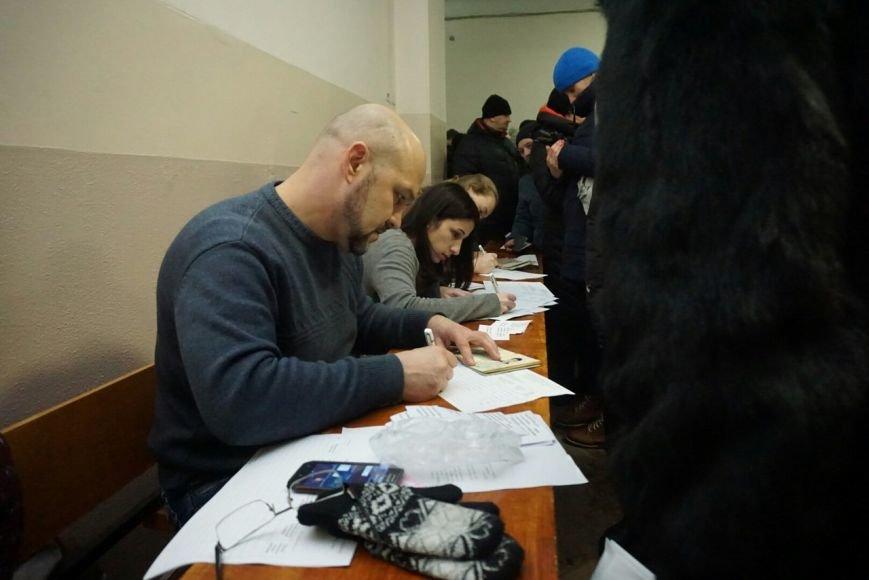 Во время регистрации участников собрания по созданию инициативной группы по отзыву каменских депутатов произошел казус, фото-5