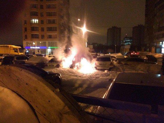 сгорела машина2