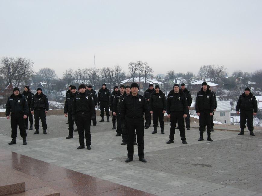 Полицейские Чернигова приняли участие в флешмобе отжиманий, фото-2