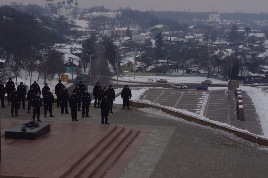 Полицейские Чернигова приняли участие в флешмобе отжиманий, фото-3