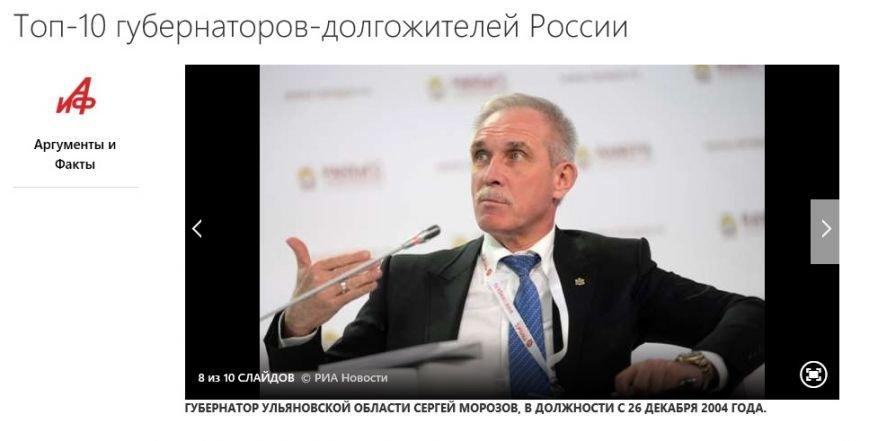 Сергей Морозов стал губернатором-долгожителем, фото-1