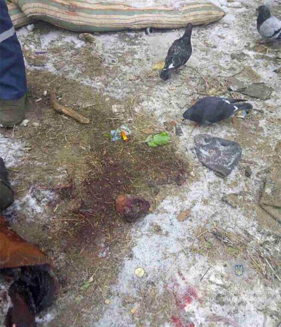 На Днепропетровщине двое парней и 13-летняя девочка забили до смерти бездомного (ФОТО 18+), фото-1
