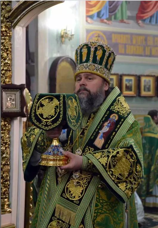 Митрополит Ефрем отметил День Ангела со всей Криворожской епархией, мэром и казаками (ФОТО), фото-2