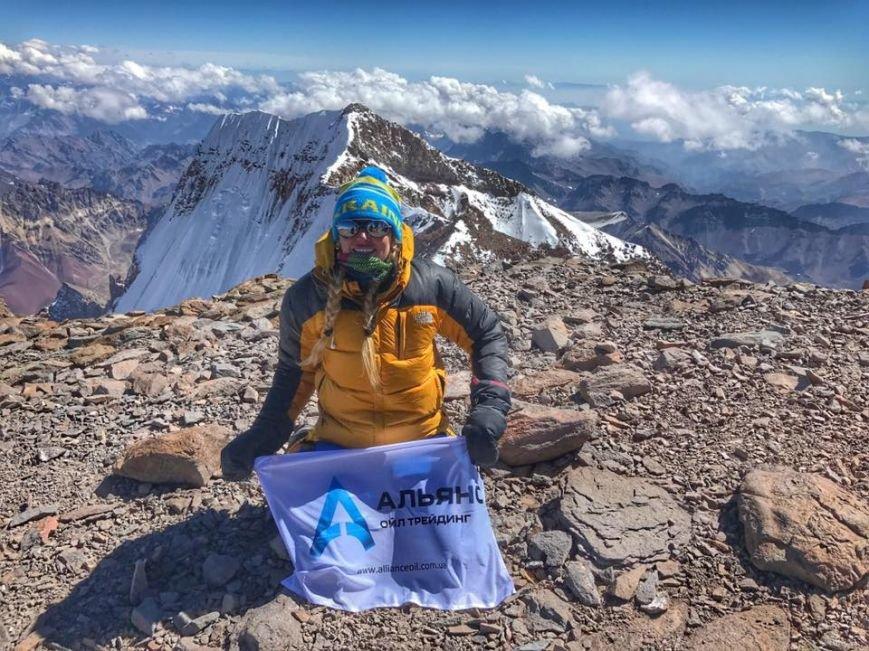 Альпіністка з Мукачева Ірина Галай підкорила найвищу гору південної півкулі Аконгауа: фото, фото-2