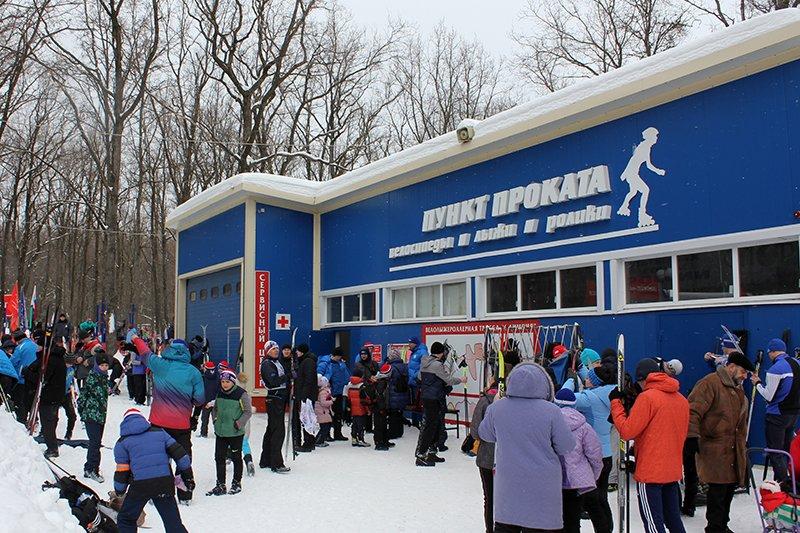 «Лыжня России» собрала в Белгороде почти четыре тысячи участников, фото-1