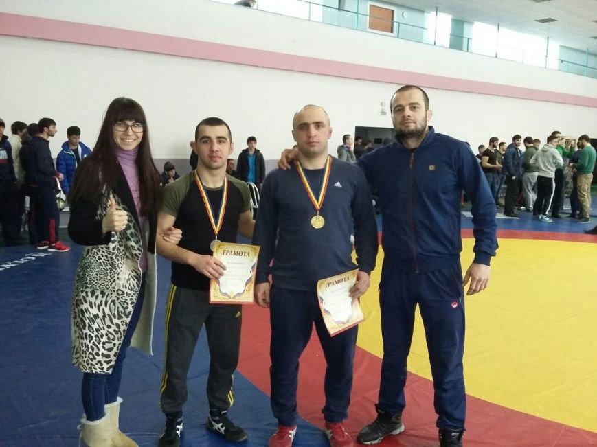 Убирия Георгий и Енок Тамазян - наш чемпион и финалист области