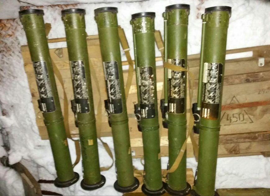 СБУ разоблачила вблизи Бахмута крупный тайник с оружием, фото-2