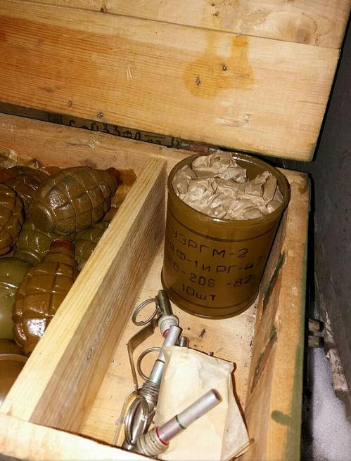СБУ разоблачила вблизи Бахмута крупный тайник с оружием, фото-10