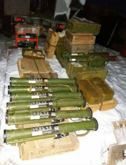СБУ разоблачила вблизи Бахмута крупный тайник с оружием, фото-7