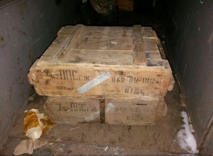СБУ разоблачила вблизи Бахмута крупный тайник с оружием, фото-8