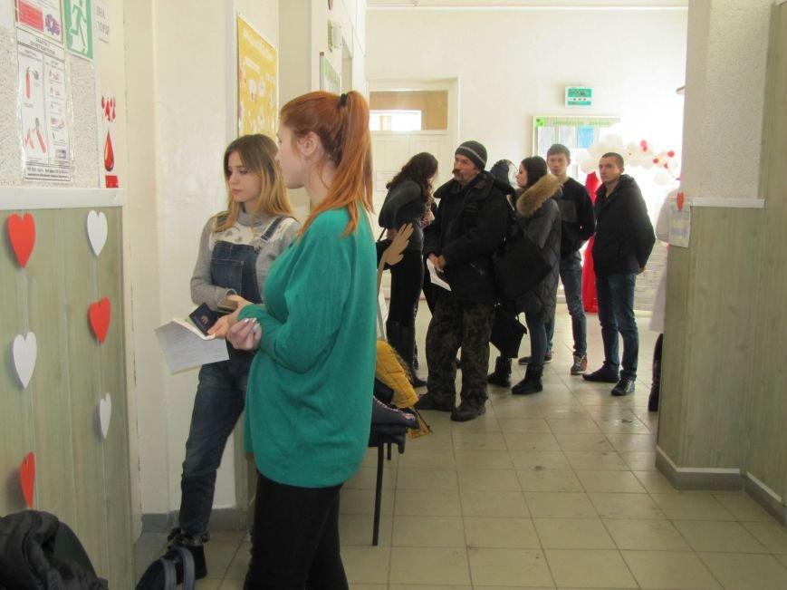В Мелитополе влюбленные пополняют банк крови, фото-1