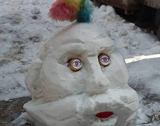В Мелитополе слепили снеговиков, поднимающих настроение, фото-3
