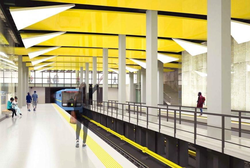 В мэрии Киева показали, как могут выглядеть станции метро на Виноградаре (ФОТО), фото-2