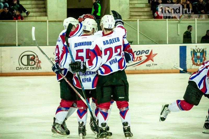 ХК «Ростов» потерпел поражение во втором матче с «Алтаем», фото-1