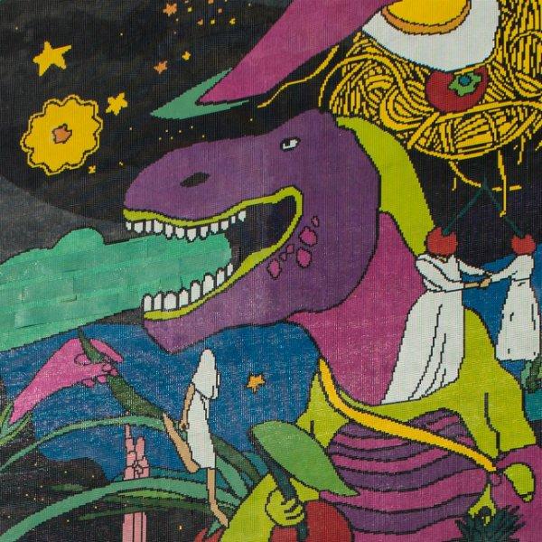 В Киеве открыли мозаику про динозавров, фото-2