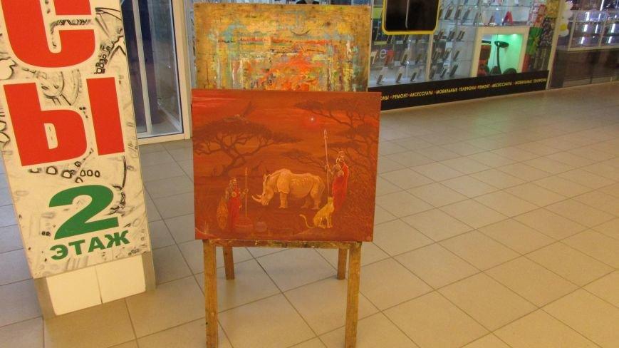 В Мелитополе открылась выставка картин воина АТО, фото-4