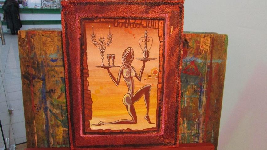 В Мелитополе открылась выставка картин воина АТО, фото-3