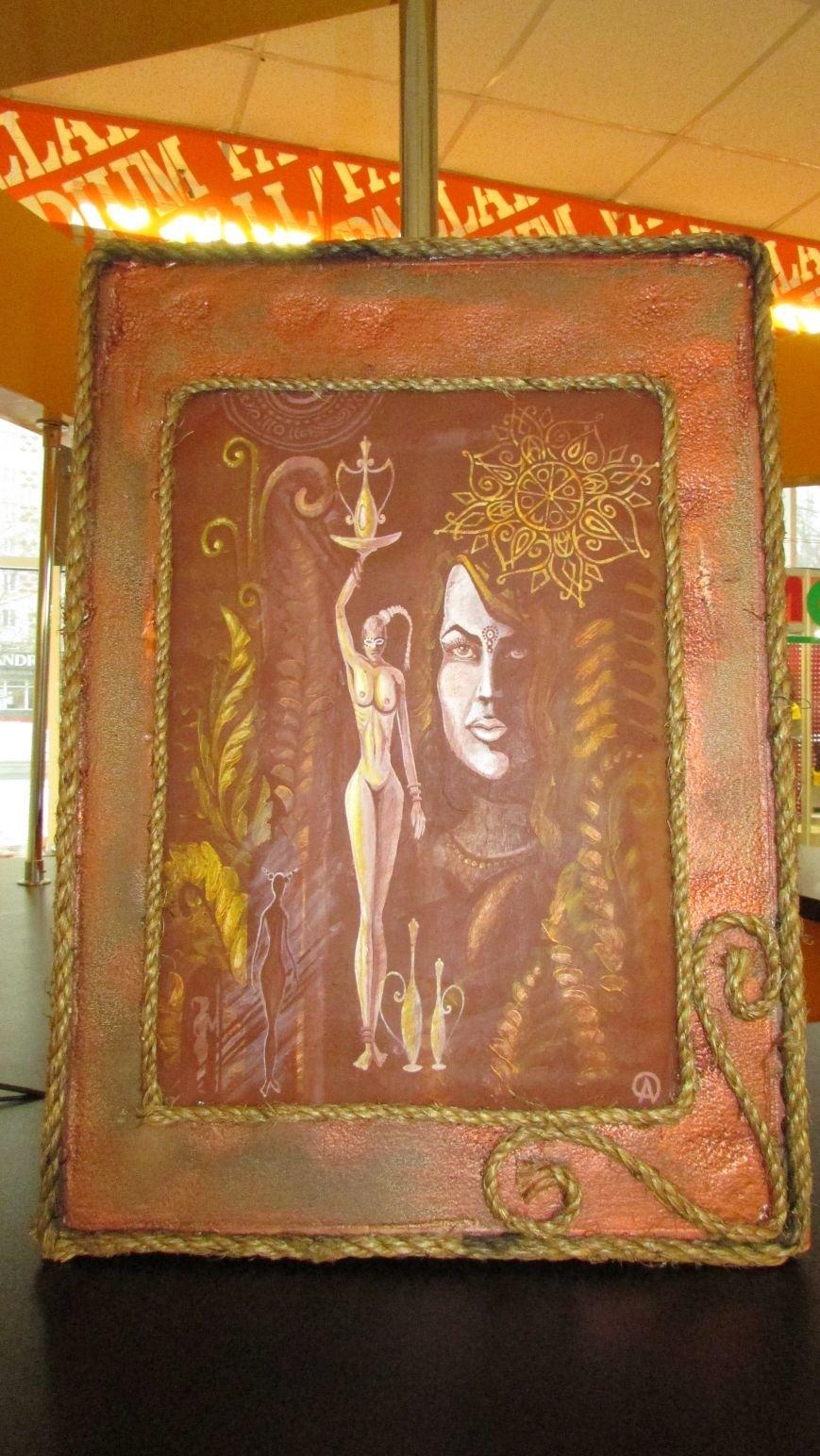 В Мелитополе открылась выставка картин воина АТО, фото-6