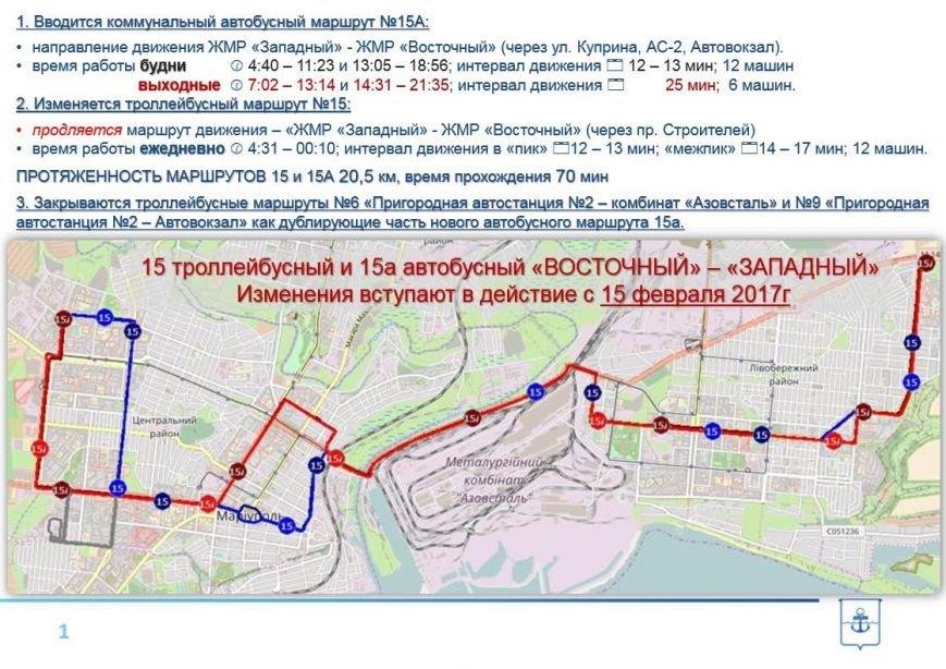 Новые автобусы  МАЗ соединят восточную и западную части Мариуполя (ФОТО,ВИДЕО, СХЕМА), фото-1