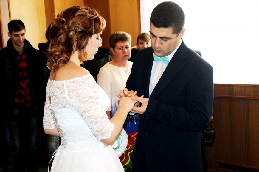 В День всех влюбленных сразу 12 пар решили заключить экспресс-брак (ФОТО), фото-1