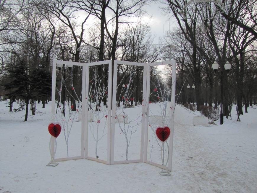 В центральном парке работают фотозоны для влюбленных, фото-6