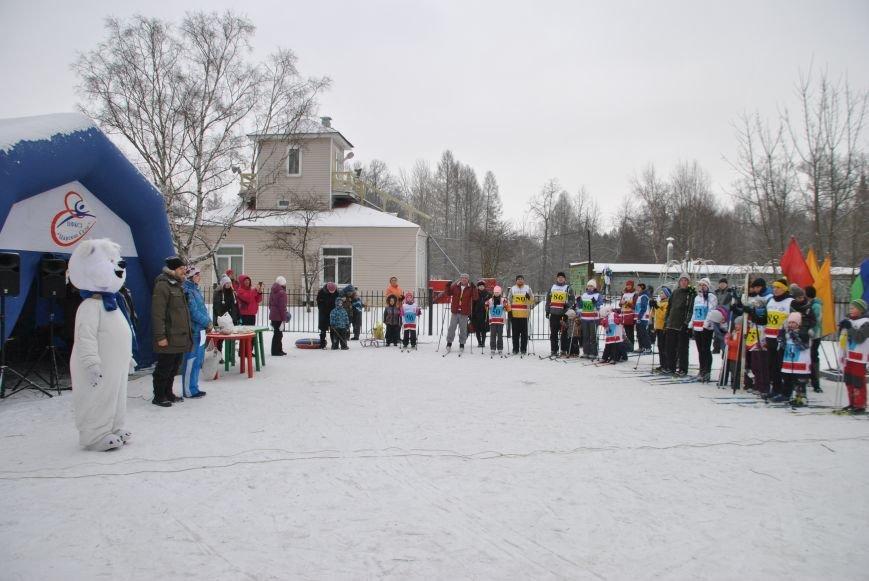 В Нижнем парке состоялись соревнования по лыжным гонкам среди семейных команд, фото-1
