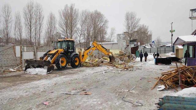 В Киеве снесли рынок (ФОТО), фото-3