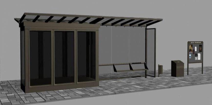 Мариупольские остановки станут бронированными(ФОТО), фото-2