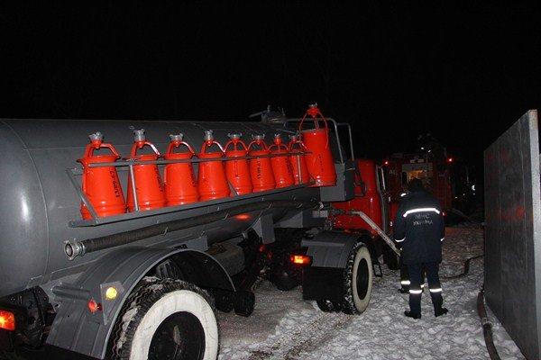 В Киеве горела трансформаторная подстанция (ФОТО), фото-1