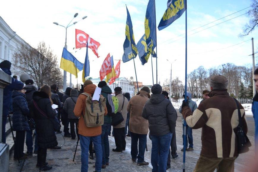 Похоронные венки у стен Полтавского горсовета: предприниматели митингуют за понижение налогов (Фото), фото-2