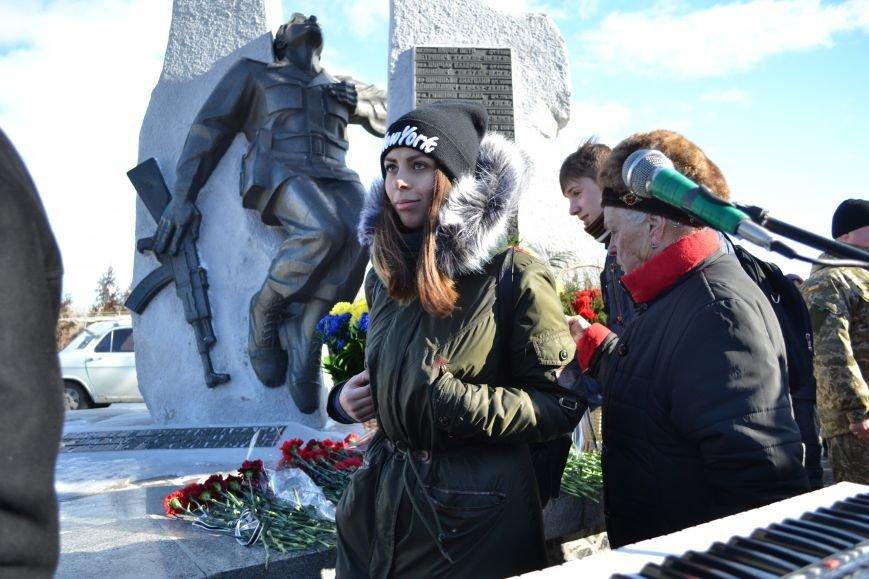 В Каменском почтили память воинов-афганцев, фото-17