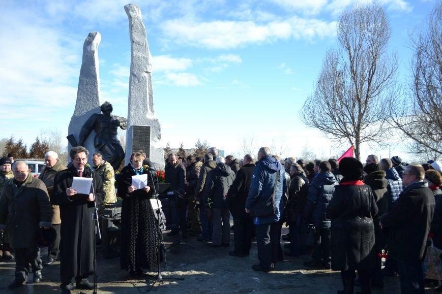 В Каменском почтили память воинов-афганцев, фото-15