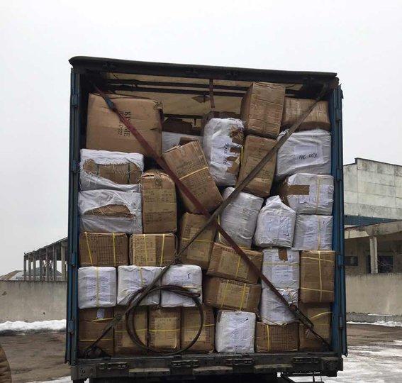 На Закарпатті викрили незаконний експорт одягу на 4 мільйони гривень: фото, фото-1