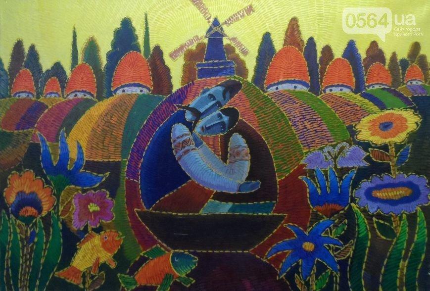 """В Кривом Роге открылась выставка """"украинского Пикассо"""" (ФОТО), фото-10"""