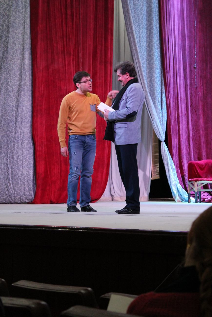 Каменской театр готовит к показу «Наталку Полтавку», фото-2