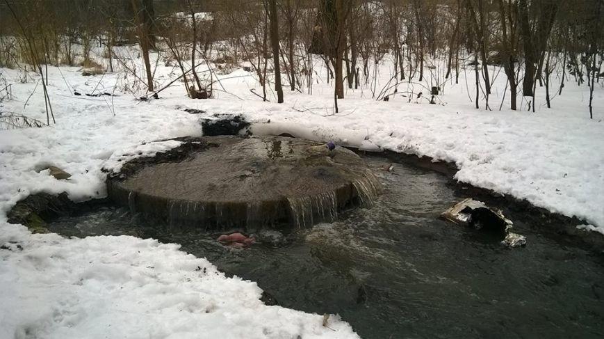 В Кривом Роге канализационные стоки попали в реку Саксагань (ФОТО), фото-3