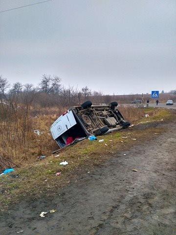 На Ужгородщині поблизу Великих Лаз пасажирський автобус потрапив у ДТП: є 7 постраждалих, фото-5