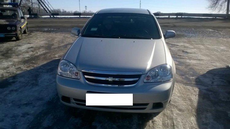 Угнанный в Каменском Chevrolet задержали в Криничанском районе, фото-1