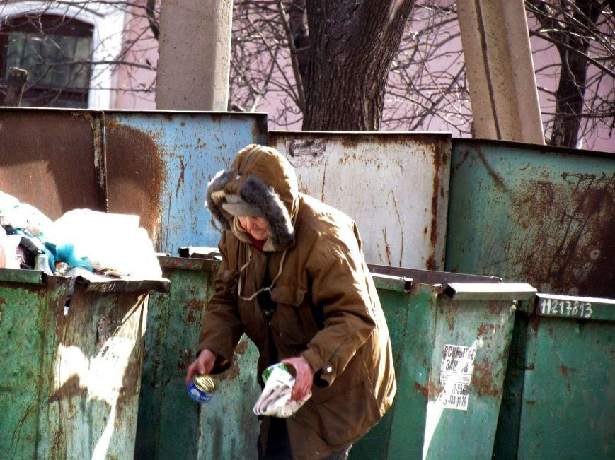 Жизнь мариупольских бездомных, фото-9