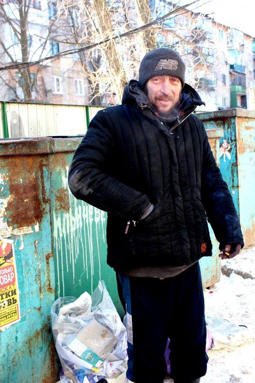 Жизнь мариупольских бездомных, фото-7